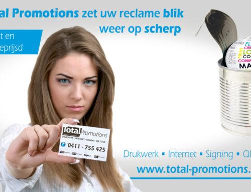 Nieuwe website Marja Gijben door Total Promotions